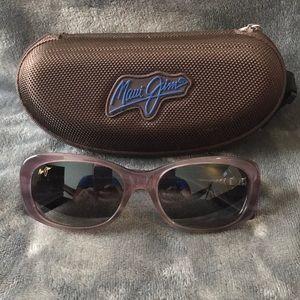Maui Jim Lilikoi purple polarized sunglasses